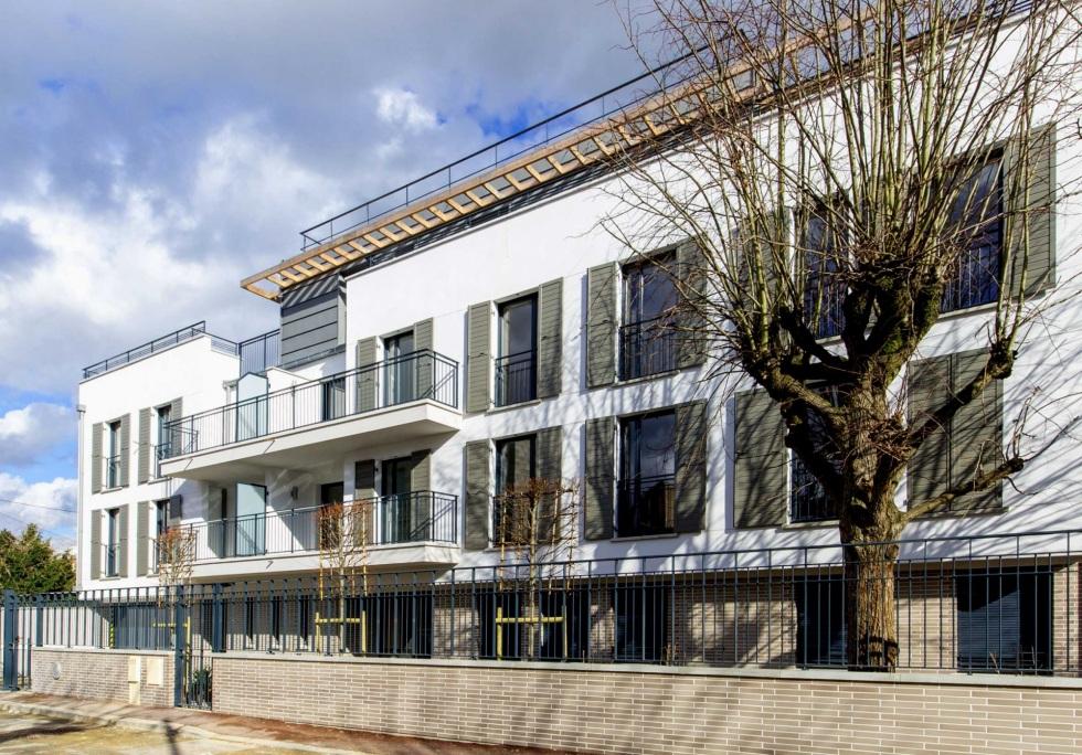 Jardins en ville maisons laffitte dlm architectes - Architecte maisons laffitte ...