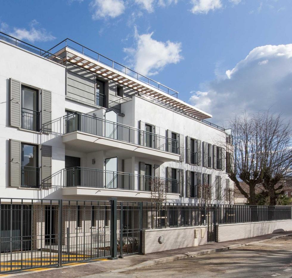 Jardins en ville à Maisons - Laffitte - DLM architectes