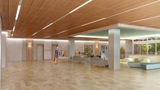 Dlm architectes notre portfolio - Hopital porte de versailles ...